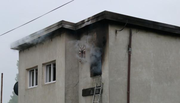 Wołomin: Ogień strawił dobytek rodziny wielodzietnej