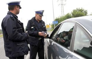 Policjanci nie próżnują
