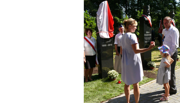 Ossów: Nowe popiersia w Dolinie Smoleńskiej