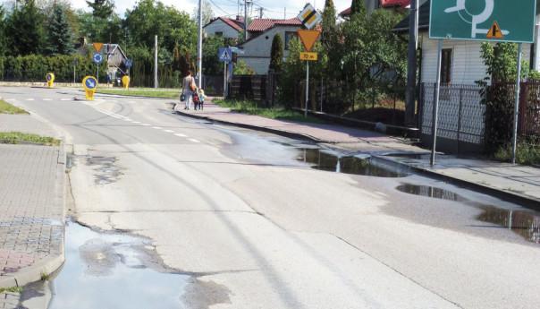 Zalane ulice Zagościńca: Jest coraz gorzej!
