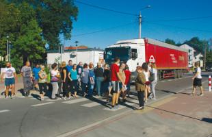 Protest w Ostrówku