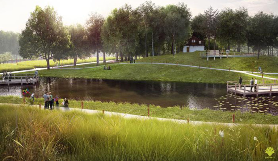 Wołomin: Park w rezerwie