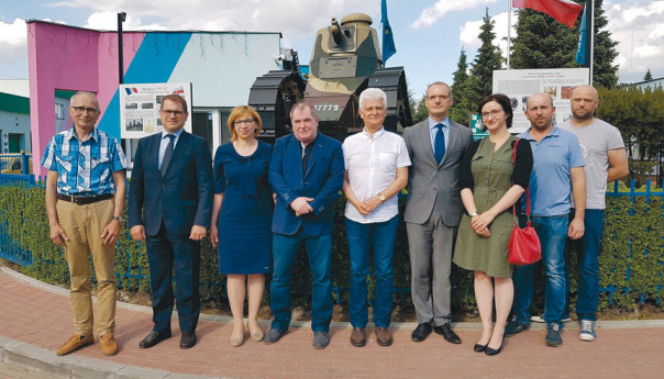 Wołomiński czołg głównym bohaterem Święta Narodowego Francji!
