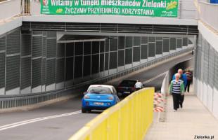 NIE dla rowerów w tunelu