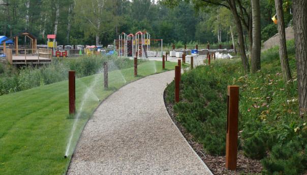Park w październiku