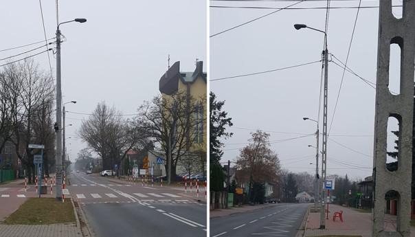 Piłsudskiego bez żadnej flagi