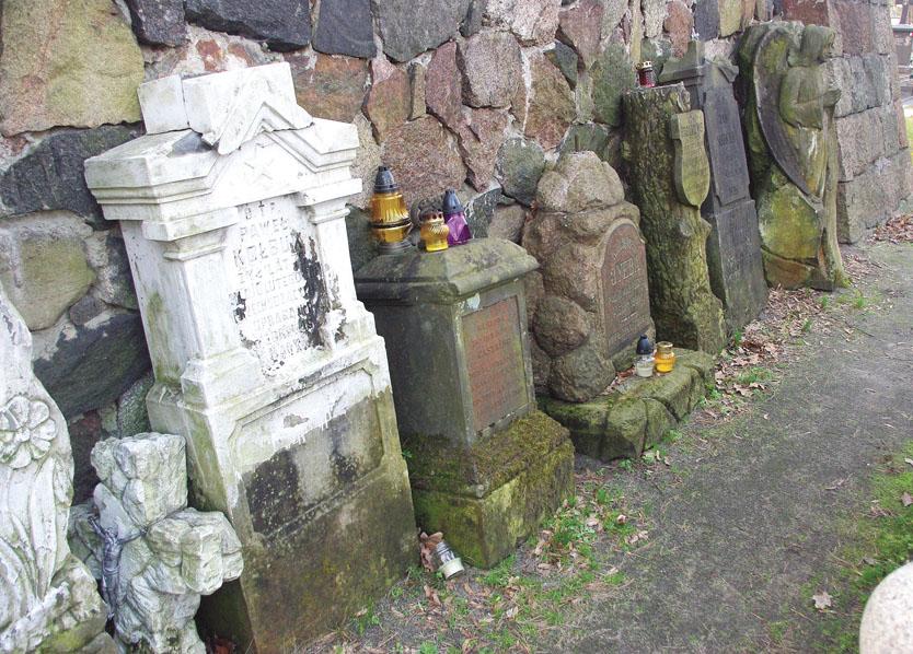 Znikające groby