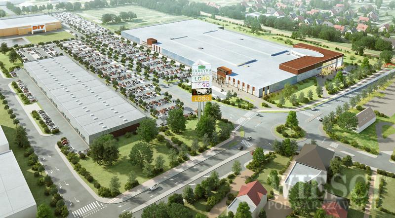 Wołomin: Centrum handlowe - jesień 2015 r.