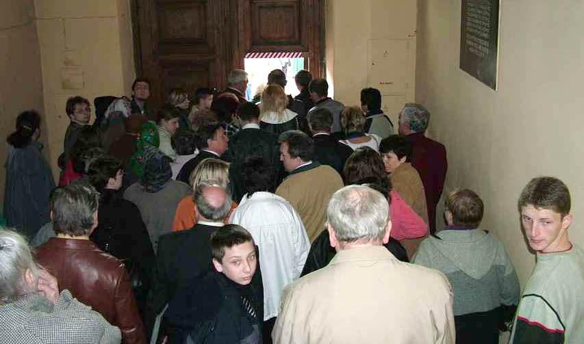 Mało nas w niedzielę w kościele