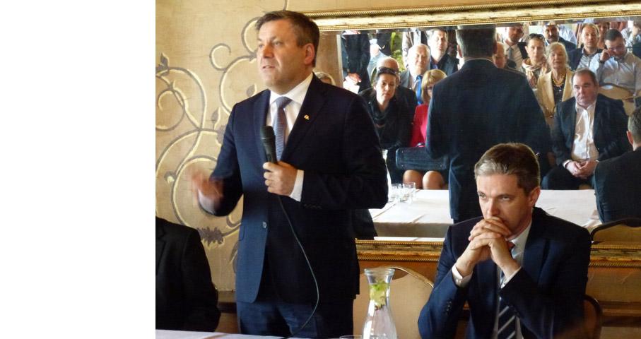 Wicepremier w Wołominie