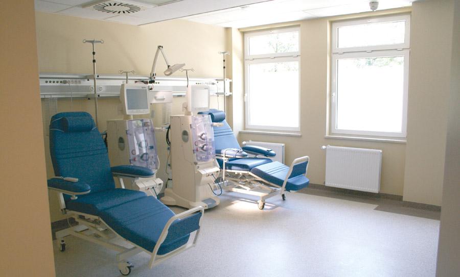 Szpital wstaje z kolan?