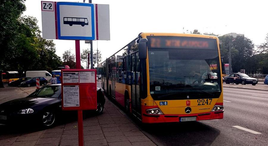 Kierowca autobusu zapłaci 2500 zł