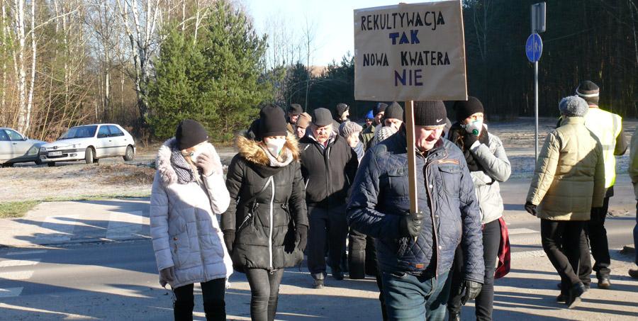Wołomin: Mieszkańcy protestują!