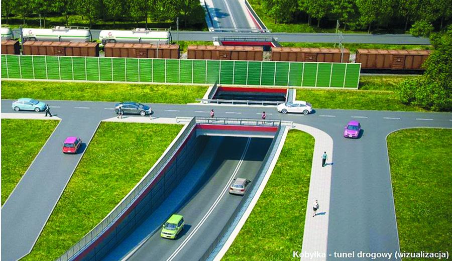 Projekty tunelu i wiaduktu prawie gotowe
