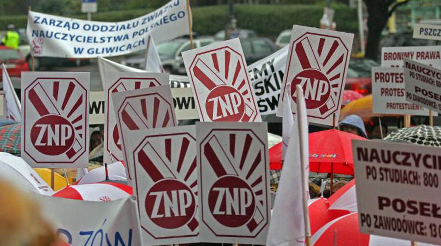 Strajk nauczycieli rozpoczęty!