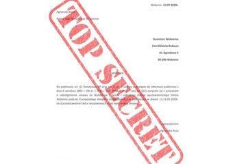 Urząd odmawia udzielenia informacji. Co kryje się za tajemniczą umową?