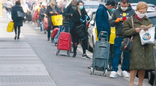Epidemia strachu we Włoszech