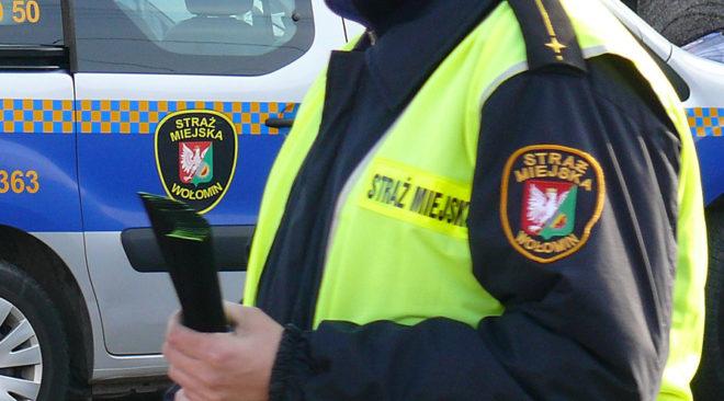 Strażnicy razem z policją