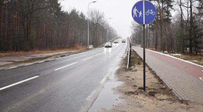 Zielonka: Co ze ścieżką rowerową na wiadukcie?