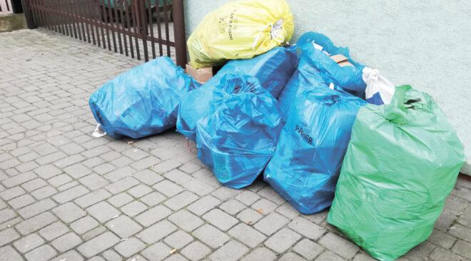 Śmieci na ulicach