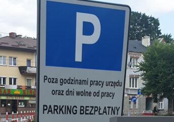 Płatna strefa parkowania